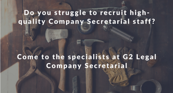 Are you struggling to recruit high-quality Company Secretarial staff?