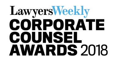 Lawyers Weekly Corporate Counsel Awards, Sydney
