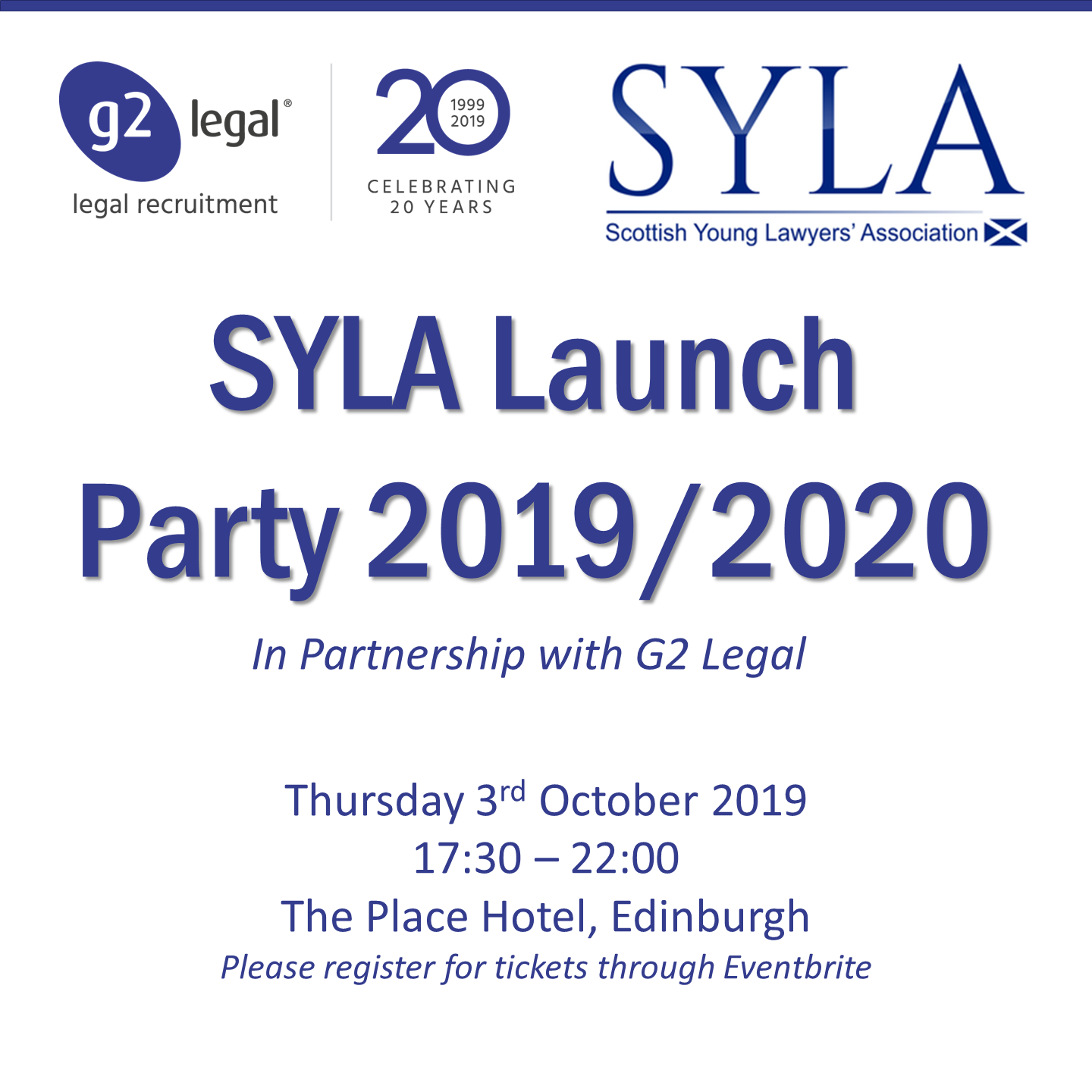 SYLA 2019/2020 Launch Party