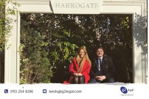 Feeling the praise in Harrogate!
