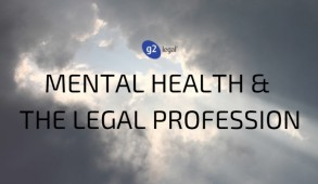 Mental Health and the Legal Profession