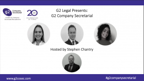 G2 Legal Presents: G2 Company Secretarial
